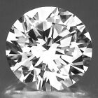 IF ROUND (0.8-20mm) RUSSIAN SIMULATED DIAMOND 6AAAAAA CRYSTAL WHITE LOOSE STONE
