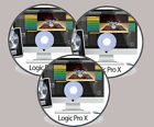 APPLE LOGIC PRO X TUTORIAL  VIDEO TRAINING 1GB DVD