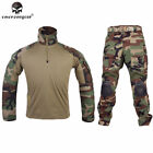 Emerson G3 Tactical Uniform Airsoft Combat Hunting BDU Clothing Woodland Camo
