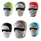 Unisex Outdoor Skiing Cycling Winter Warmer Hat Face Mask Waterproof Beanie Cap