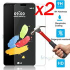 2x 9H Premium Real Tempered Glass Screen Protector Film Guard For LG Cell Phone