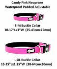 Dog Collar Neoprene Padded Waterproof Adjustable Various Colors Sizes S M L XL <br/> LIFETIME GUARANTEE ELITE RANGE by Friendly Dog Collars