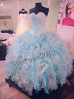 New Hot Sale Quinceanera Pageant Formal Prom Party Ball Wedding Dress Size 2-28+