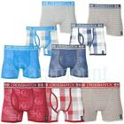 Crosshatch Check Stripe Pack of 3 Boxer Trunks Shorts   mens Size