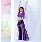 Women Belly Dance Dancing Translucent 360 Isis Wings Performances Isis Wings