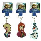 Disney Frozen Rubber Keyrings - Elsa Anna OR Olaf