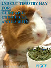 2nd CUT PREMIUM Timothy Hay food diet for Guinea Pigs Chi...