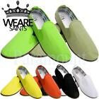 We are Saint Niall Slip On Canvas Pumps  mens Size