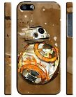 Star Wars BB-8 Droid Iphone 4 4s 5 5s 5c 6 6S 7 8 X Plus Case Cover 161