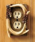 Decorative Antler Outlet Cover Switch Cover Rustic Cabin Lodge Wall Decor