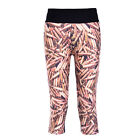 Women Sport Athletic Gym Workout Fitness Yoga Food Printed Leggings Pants Plus