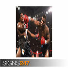 MIKE TYSON - AMERICAN PROFESSIONAL HEAVYWEIGHT BOXER (1115) Poster Print