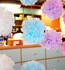5pcs Wedding Party's Outdoor Tissue Paper Poms Flower Balls Craft Decoration 10""