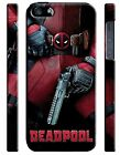Iphone 4 4s 5 5s 5c 6 6S 7 8 X XS Max XR Plus Hard Case Deadpool Hero Comics 2