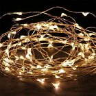 LED Battery Power Operated String Fairy Lights 20/30/50/100 Wedding Indoor