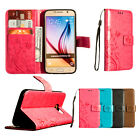 Luxury PU Leather Wallet Flip Stand Wallet Case Cover for Samsung Galaxy S 6