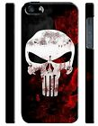 Iphone 4s 5s 5c 6 6S 7 8 X XS Max XR Plus Hard Cover Case The Punisher Logo 15
