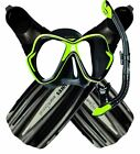 NEW BWS Ultimate Snorkel Package - Premium Mask Fins and Snorkel Set Combo Set