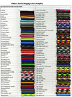 Paracord Bow Sling 96 Colors to Choose From W/ 7 hole yoke