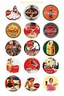"COKE COCA COLA  VINTAGE 1"" CIRCLES  BOTTLE CAP IMAGES. $2.45-$5.50 SHIPS FREE $2.45  on eBay"