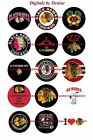 "CHICAGO BLACKHAWKS 1"" CIRCLES  BOTTLE CAP IMAGES. $2.45-$5.50 FREE SHIPPING $4.45 USD on eBay"