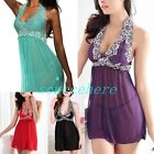 Soft Sexy Babydoll Lingerie Dress nightwear Night Gown 1X 2X 3X 4X Plus Size