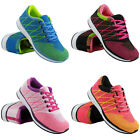 LADIES RUNNING TRAINERS WOMENS FITNESS GYM SPORTS  INSPIRED COMFY SHOES SIZE