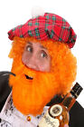 Tartan Scottish Fancy Dress Costume Burns Night Patriotic St Andrews