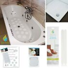 MODERN BATH SHOWER TRAY SAFETY MAT NON SLIP DISCREET STICKERS DISCS OR STRIPS