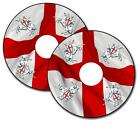 Wheelchair Spoke Guard Skins St George England Flag Custom Designs Personalised
