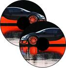 Wheelchair Spoke Guard Skins Bugatti Sports Car Custom Design Sticker Personal
