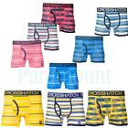 Crosshatch Striped Pack of 3 Boxer Trunks Shorts   Mens Size