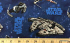 Star Wars Spacecraft Space Ships Fabric By the Yard, Half Cotton Fabric t6/37 $18.6 CAD