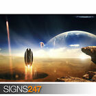 PROJECT STAR TREK (3036) Space Photo Picture Poster Print Art A0 A1 A2 A3 A4