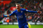 Jamie Vardy - Leicester City 2015/16 - A1/A2/A3/A4 Poster / Photo Print