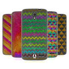 HEAD CASE DESIGNS GLITTERING PATTERNS SOFT GEL CASE FOR ALCATEL PHONES 2