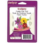 Sculpey® Push Mold- Flowers & Leaves - a press mould for use with clay