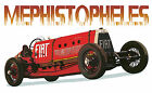 Fiat Race Car Mephistopheles canvas art print *