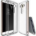 LG V10 Case For Ringke Fusion Hard Slim Clear View Back Dust Cap Protect Cover