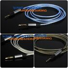 Upgrade Silver Plated HIFI OFC Cable For Ultrazone Signature Pro , DJ Headphone