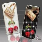 NEW HANDMADE DIAMANTE DIAMOND HANDBAG CASE COVER SAMSUNG iPHONE SONY HTC 5 6 S6