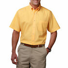 MEN'S SHORT SLEEVE SHIRTS, POPLIN SHIRT,SIZE S - 9/10XL, LARGE/PLUS SIZE SHIRTS