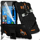 Shock Proof Dual Layer Heavy Duty Case Cover+Stereo Headphones for Lumia