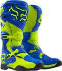 NEW 2016 FOX RACING COMP 8 MX OFFROAD BOOTS- YLW/BLU