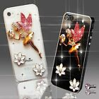NEW TINKERBEL ANGEL FLOWER DIAMOND CASE COVER 4 SAMSUNG iPHONE SONY HTC 4 5 6 S6