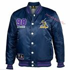 Melbourne Storm 2016 Mens Baseball Jacket 'Select Size' S-5XL BNWT
