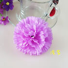 Party Wedding Artificial Silk Flowers Heads Carnations Flowers Home Decor 9cm