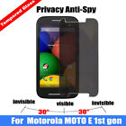 Anti-spy Privacy Real Tempered Glass Screen Protector for Motorola Moto G X E 2