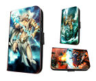 Greek Gods Zeus Poseidon faux leather phone case for iphone samsung htc lg sony
