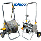 HOZELOCK 60M ASSEMBELED WHEELED METAL CART WITH & WITHOUT HOSE PIPE CONNECTOR